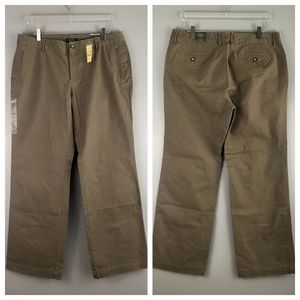 NEW NWT Eddie Bauer Chino Khaki Pants BLAKELY Fit